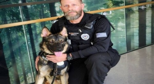 Providence St. Mary Medical Center K9 Axel to get donation of body armor