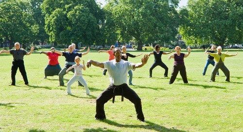Tai chi: Prevent a fall with this ancient exercise
