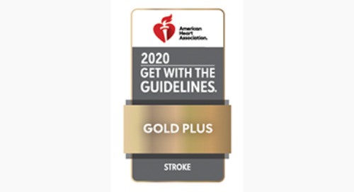 Providence's Stroke Program Honored with Gold Achievement Award for 11 Consecutive Years