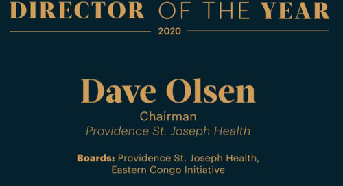 Dave Olsen named as Puget Sound Business Journal's 2020 Director of the Year