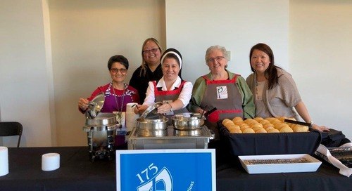 Soup recipes from the Sisters of Providence for Table of the King event