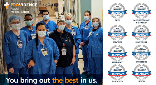 Providence Alaska Medical Center honored as top health care provider in Alaska