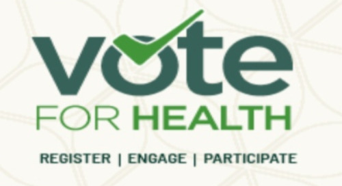 Your vote matters: Vote for health