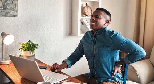 Working from home and lower back pain: Ergonomics and exercise to the rescue