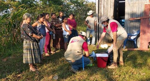 Queen of the Valley Caregiver Volunteers in Guatemala