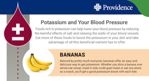 5 foods rich in potassium to help reduce high blood pressure