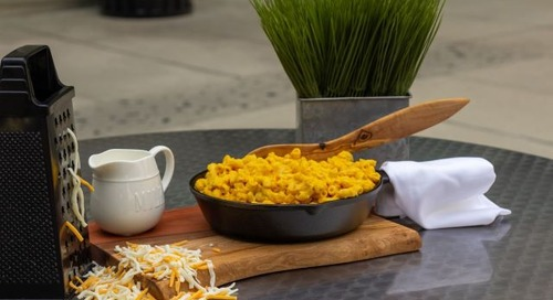 Food for the soul: Macaroni & cheese
