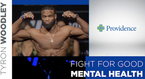 Tyron Woodley: Fight for good mental health