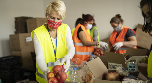 Fighting food insecurity through community partnerships