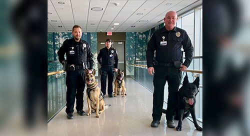 Providence Health Care Expands K9 Security Program