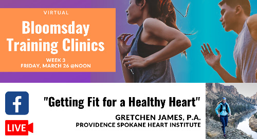 Week 3: Bloomsday Training Clinics with Gretchen James, PAC