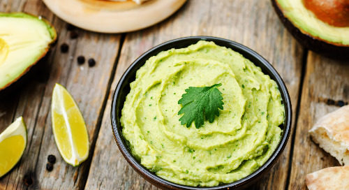 Healthy Recipe: Green Avocado Hummus
