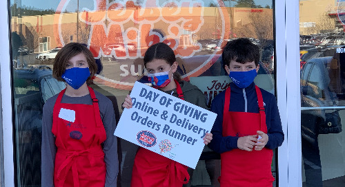 Jersey Mike's Month of Giving Raises $21,000 To Benefit Sacred Heart Children's Hospital
