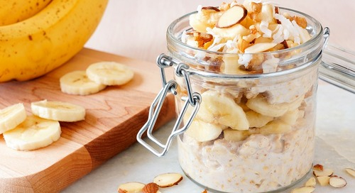 Healthy Recipe: Banana Bread Overnight Oats