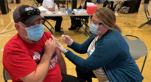 Spokane Nonprofit Founder Thanks Providence For COVID-19 Vaccination Clinic
