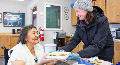 Delivery Program Helps Kodiak Seniors Stay Healthy – and Connected