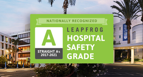 Little Company of Mary hospitals rated A for safety