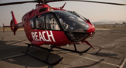 REACH Air Medical Services to station helicopter at Providence St. Mary