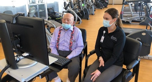 WWII veteran's heart is going strong with the help of St. Luke's cardiac rehab