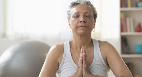 Improving mental fitness with meditation as you age