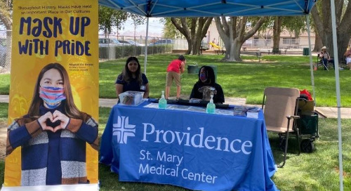 Through community outreach and education, St. Mary looks to reduce area's spread of COVID-19