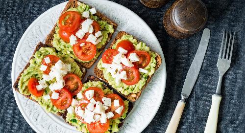 Healthy recipe: Italian caprese avocado toast