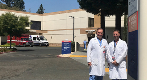 Tackling Trauma Together: Local Father and Son Team Up at Providence Santa Rosa Memorial Hospital's Busy Trauma Center