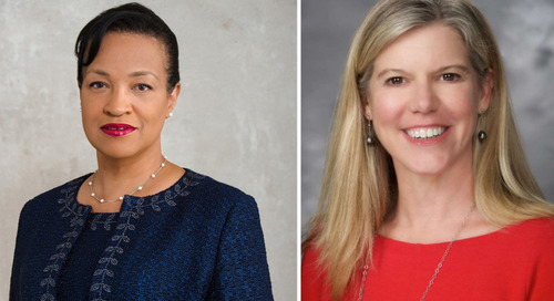 Drs. Rhonda Medows and Amy Compton-Phillips as Modern Healthcare's Top 25 Women Leaders