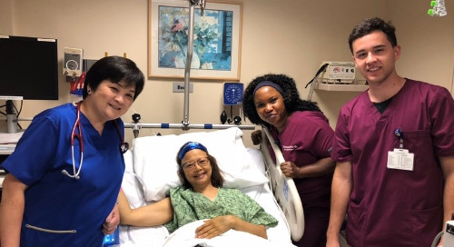 Former nurse beats metastatic breast cancer and is living life 'one day at a time'