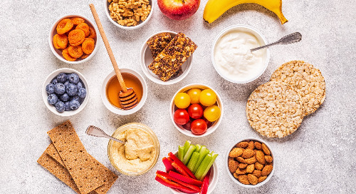 Healthy, delicious snacks on the go