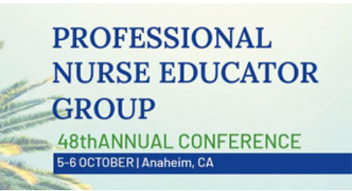 JOIN US! PROFESSIONAL NURSE EDUCATOR GROUP CONFERENCE 2022