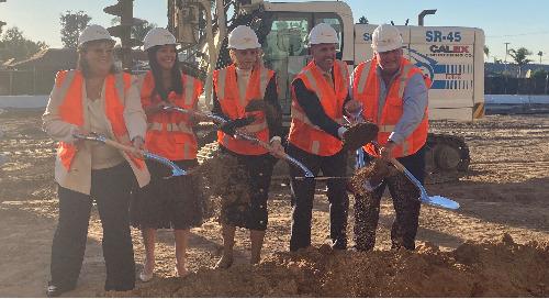 Providence St. Joseph Hospital in Orange Breaks Ground on New 'Helen Caloggero Women's and Family Center'