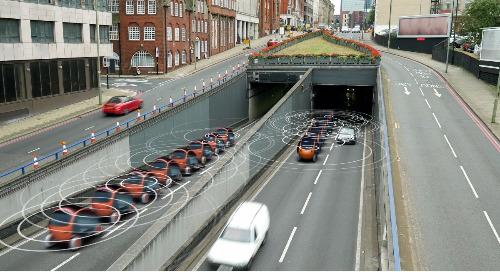 Des voitures qui se parlent – En route vers les véhicules automatisés