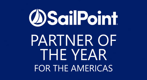 "AWARD: Announced at RSA 2017, Edgile Named SailPoint ""Partner of the Year"" for the Americas"