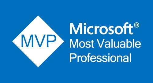 AWARD: Microsoft MVP Award 2018