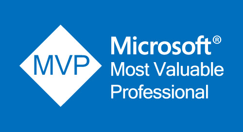 Microsoft MVP Award 2018
