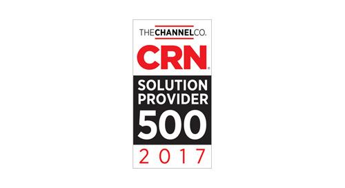AWARD: 2017 Solution Provider 500