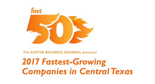 AWARD: 2017 Austin Business Journal's 'Fast 50'