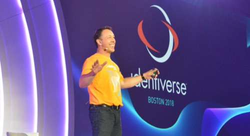 Identiverse 2018: Machine Learning and Progress Against Passwords