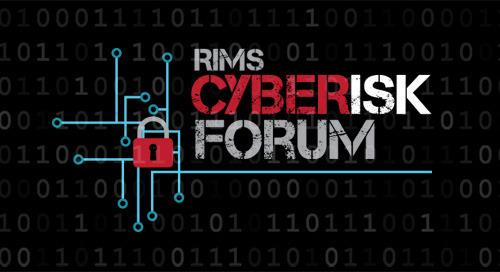 RIMS Cyber Risk Forum Oct. 4-5, 2018 in Seattle, WA