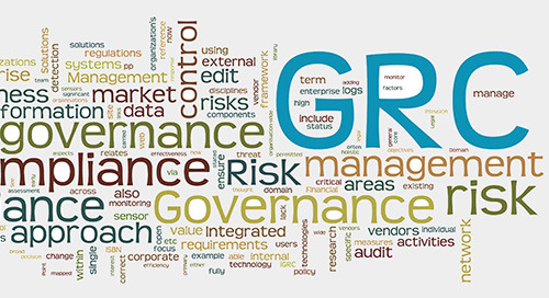 Edgile iGRC Content Service for manual or automatic regulatory compliance