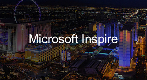 Jul 14-18 in Las Vegas, NV - Microsoft Inspire