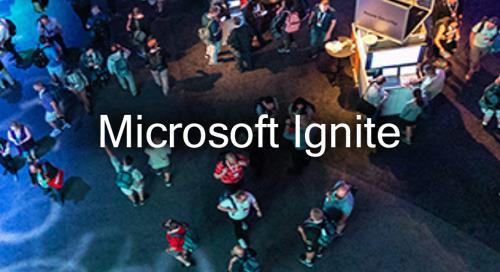 September 21-25, 2020 - Microsoft Ignite