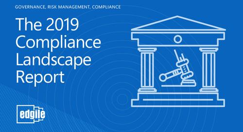 2019 Edgile Compliance Landscape Report