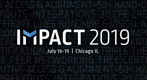 Jul 16-19 in Chicago, IL - Impact 2019