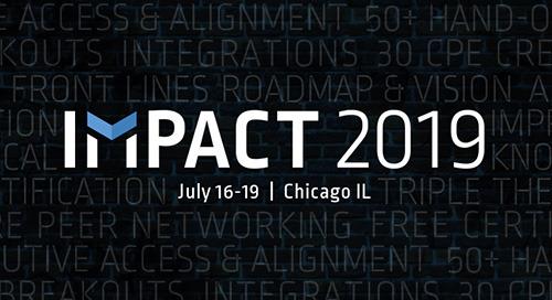 Jul 16-19, 2019 in Chicago, IL - Impact 2019