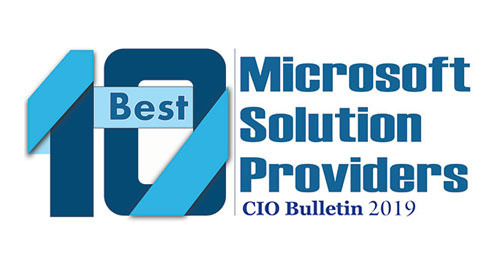 AWARD: 10 Best Microsoft Solution Providers 2019