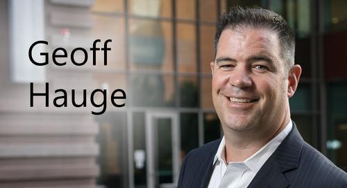 Geoff Hauge, Edgile's Eastern Region Partner
