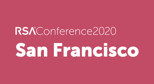 Feb 24-28, 2020 in San Francisco, CA - RSA Conference USA