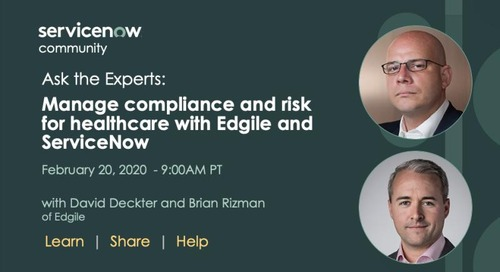 """Join us on 2/20 as Brian Rizman and David Deckter will be leading an """"Ask the Experts"""" speaking session."""